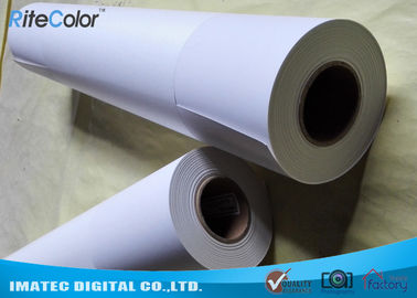 Çin Outdoor 5760 DPI Inkjet Printing Photo Paper Matte Finish Continuous Loading Fabrika