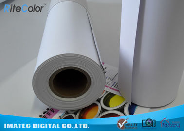 Matte Printable PP Synthetic Paper , Polypropylene Paper Rolls For Dye Ink