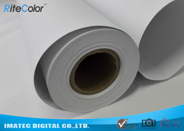 Çin 128G Large Format  Matte Coated Paper Inkjet Printing 30M For Water Based Printer Fabrika