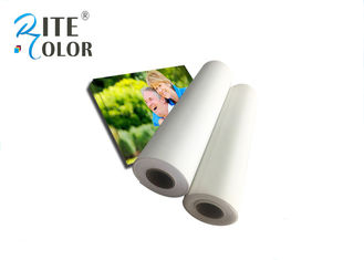 Stretchable Digital Inkjet Printing Canvas Roll with Glossy Cotton Materials