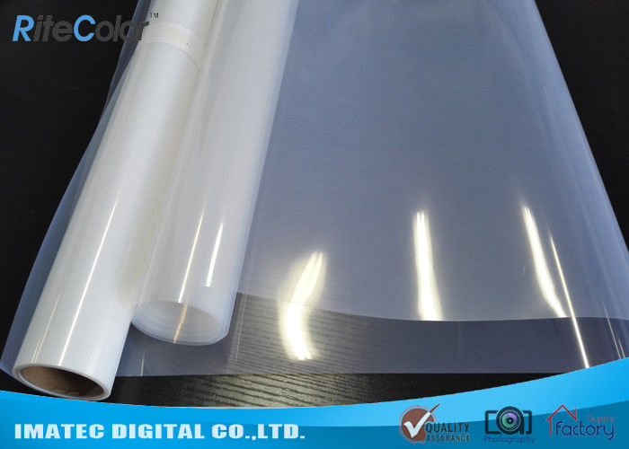 "Translucent Positive Screen Printing Inkjet Film Roll 42"" 60"" Polyester Based Tedarikçi"