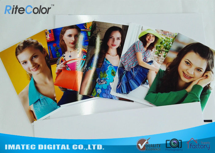 4R A1 A2 Inkjet Printing Cast Coated Photo Paper Glossy Anti Curling