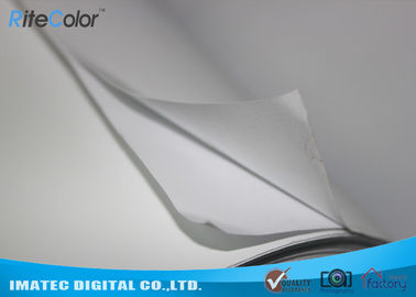 50 Meters Inkjet Sticker Matte Coated Paper With Self Adhesive Glue Back Side
