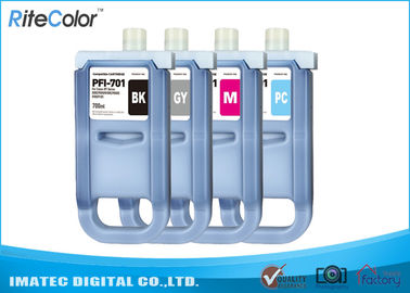 Çin Large Format Inks 700Ml Compatible Ink Cartridges For Canon iPF8000 / 8000S Distribütör