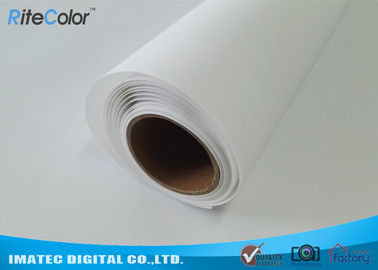 Çin Large Format Matte Polyester Canvas Rolls For Art Inkjet Digital Printing Distribütör