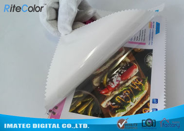 Inkjet PP 7Mil Self Adhesive Backed Printer Paper For Large Format Printing