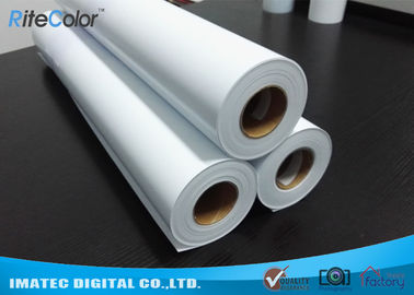 Çin Eco Solvent Matte PP Synthetic Paper , Solvent based Polypropylene Paper for Outdoor Display Fabrika